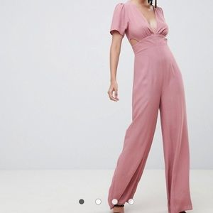 Asos jumpsuit with cutouts